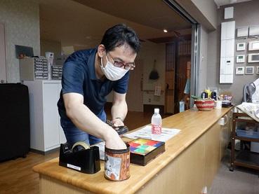 【日常の一コマ】特別養護老人ホーム「ゆるり」でジュース販売始めました。