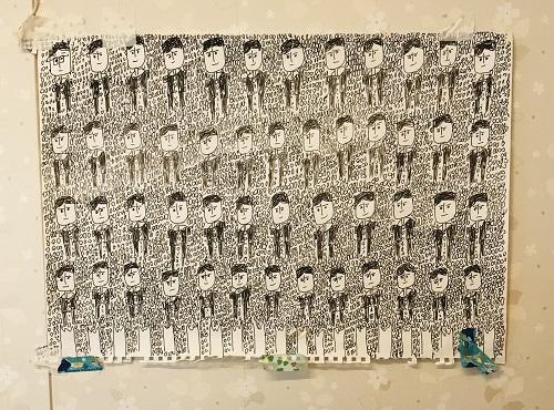 【日常の一コマ】生活介護事業「ちがさきの木魂」のアーティスト