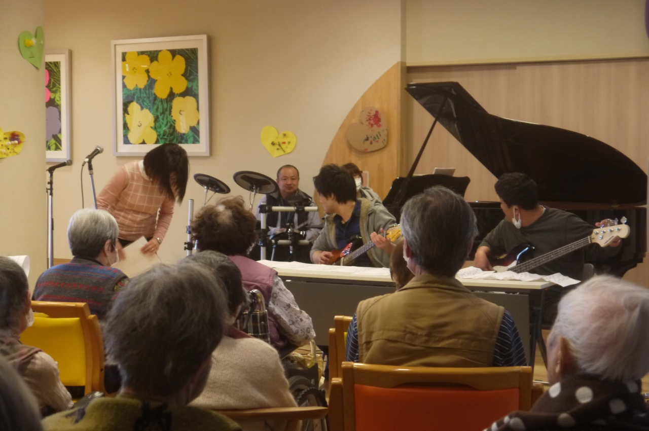ユニバーサル音楽祭 at  A・UNを開催しました。